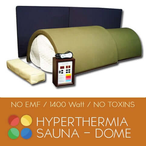 hyperthermia sauna dome for home use